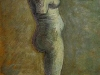 Plaster Statuette of a Female Torso 2