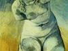 Plaster Statuette of a Female Torso 4