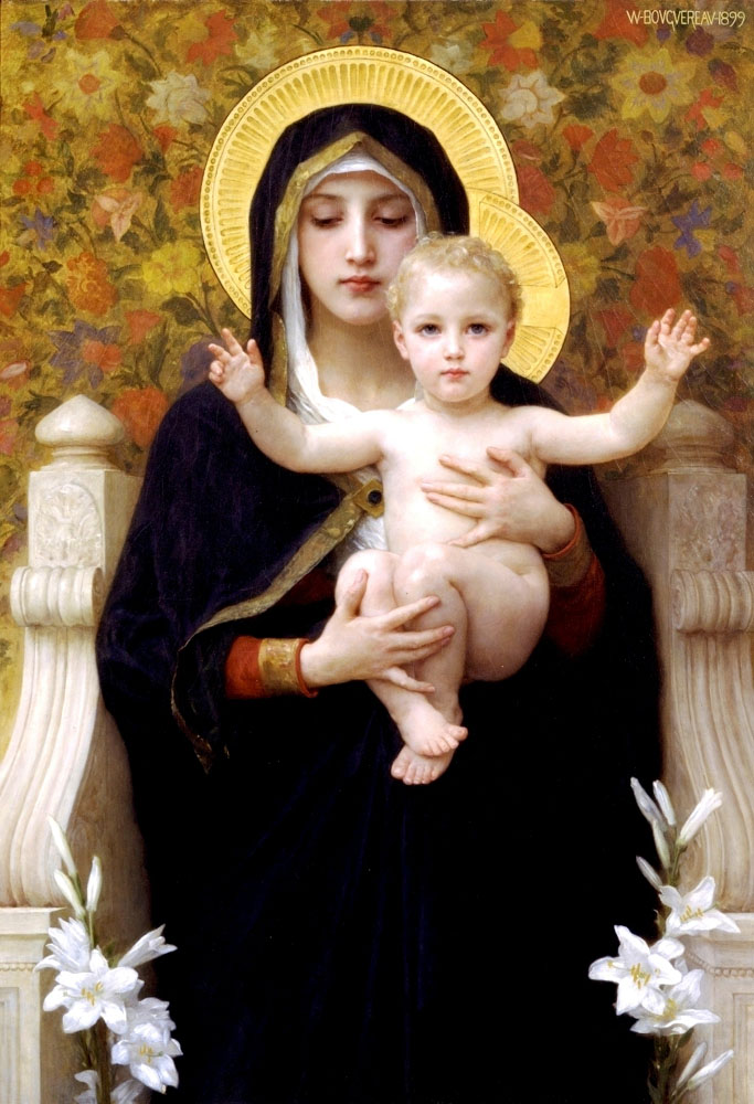 The Virgin of the Lilies