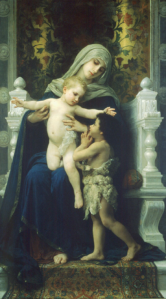 The Virgin, the Baby Jesus and Saint John the Baptist 2