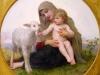 Virgin and Lamb