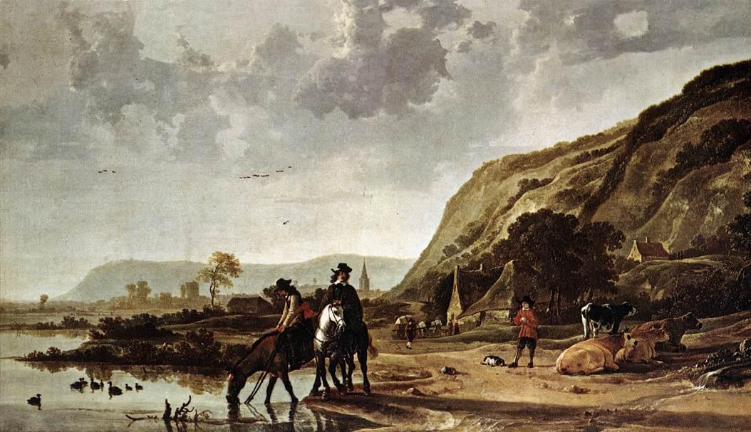 large-river-landscape-with-horsemen