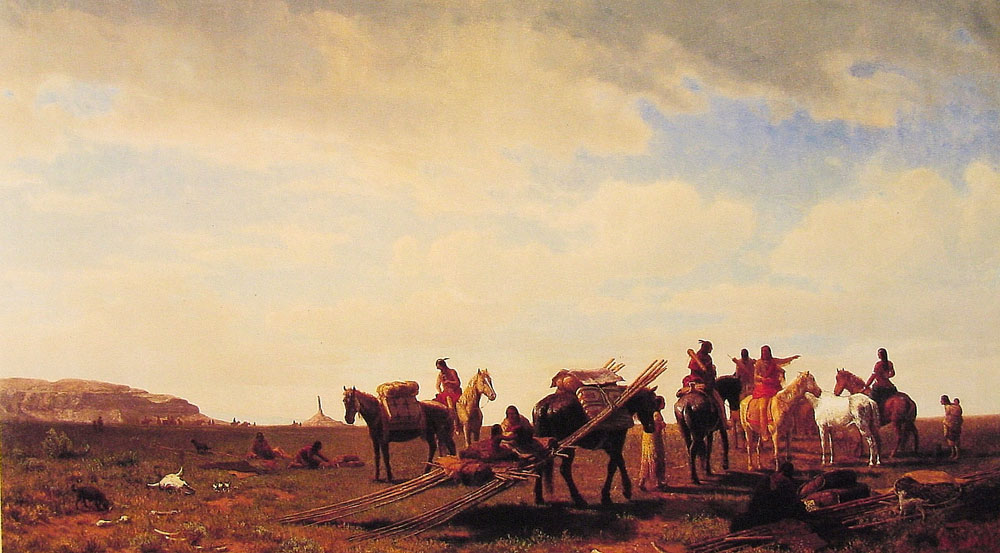 indians-travelling-near-fort-laramie