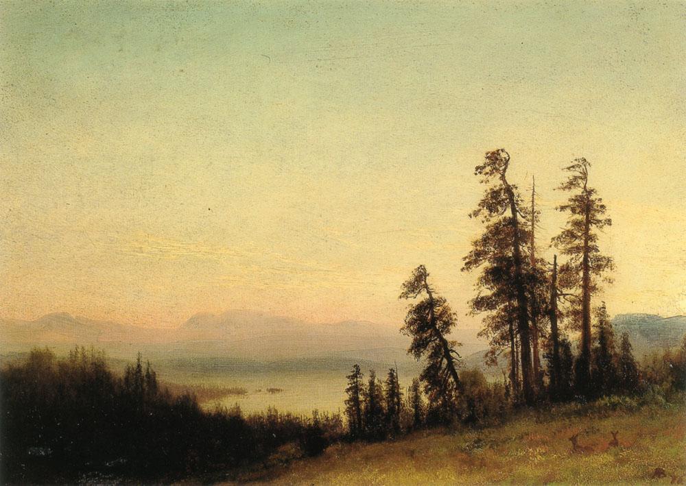 landscape-with-deer