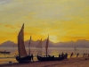 boats-ashore-at-sunset