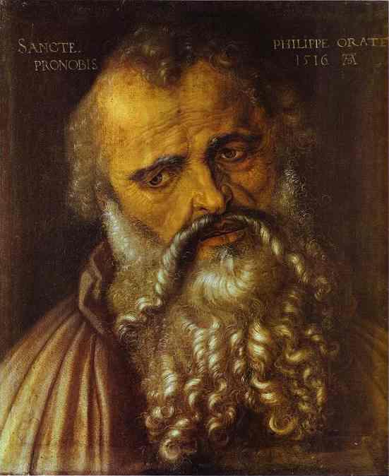 Albrecht Durer - Apostle Philip