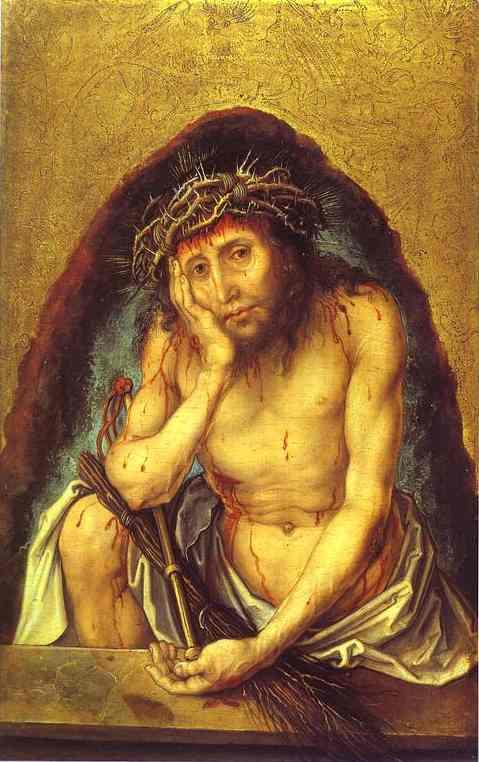 Albrecht Durer - Christ as the Man of Sorrow