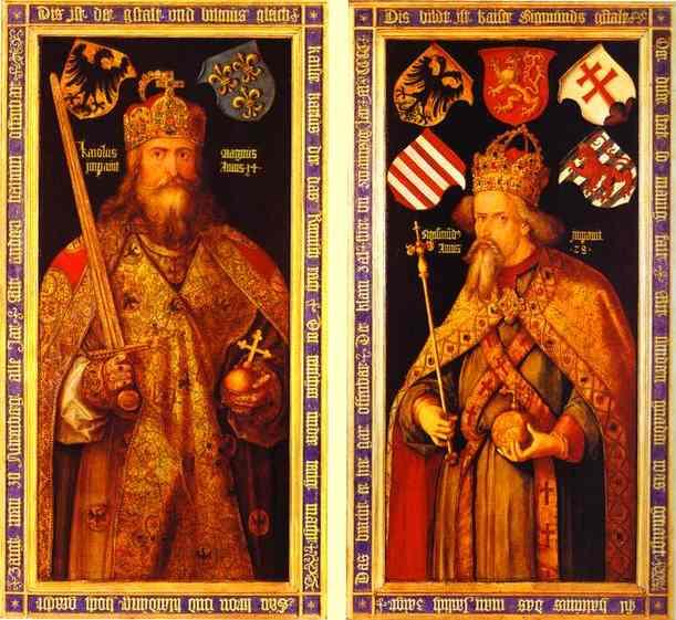 Albrecht Durer - Emperor Charlemagne and Emperor Sigismund