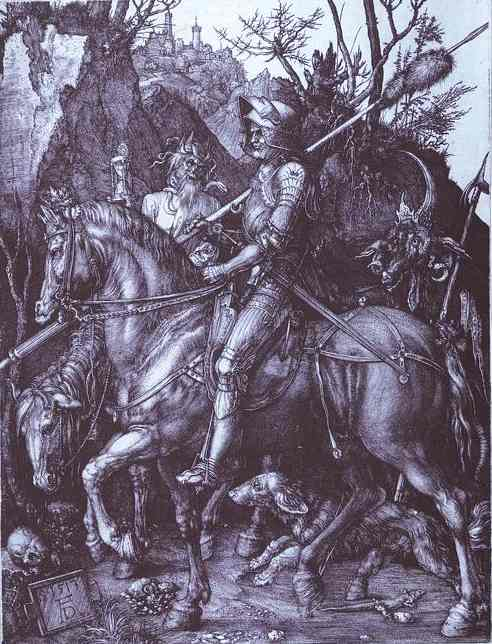 Albrecht Durer - Knight, Death and the Devil
