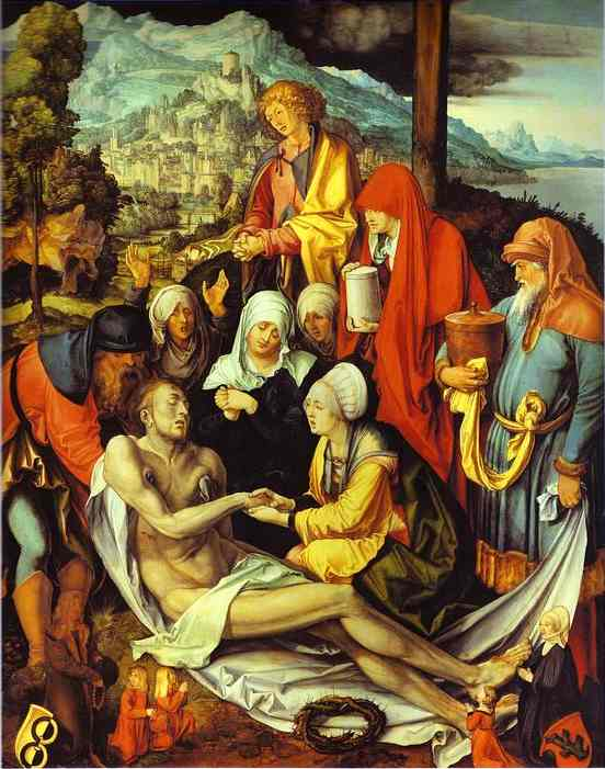 Albrecht Durer - Lamentation for Christ