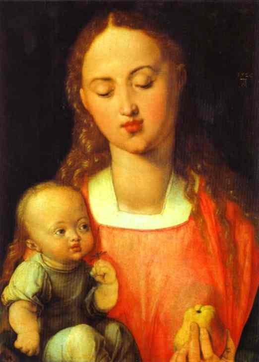 Albrecht Durer - Madonna of the Pear