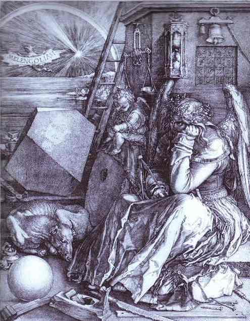 Albrecht Durer - Melencolia I