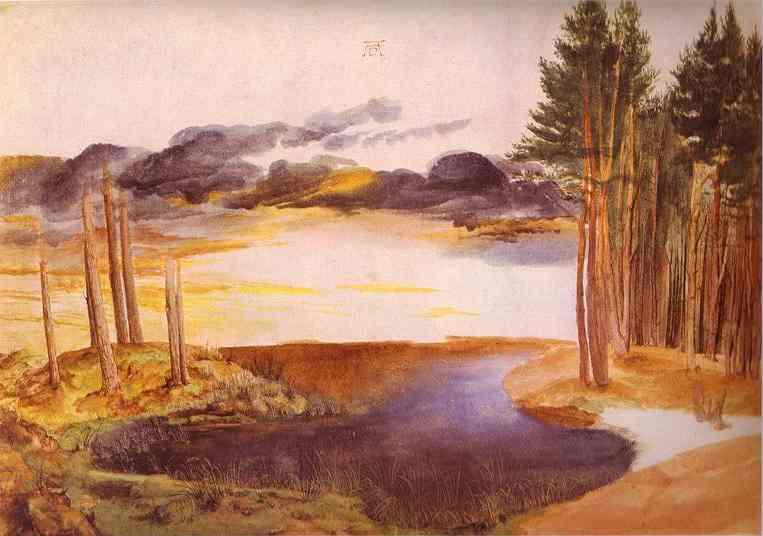 Albrecht Durer - Pond in the Woods