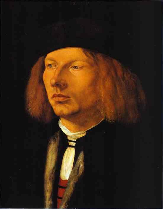 Albrecht Durer - Portrait of Burkard von Speyer