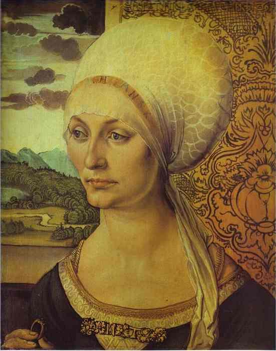 Albrecht Durer - Portrait of Elsbeth Tucher