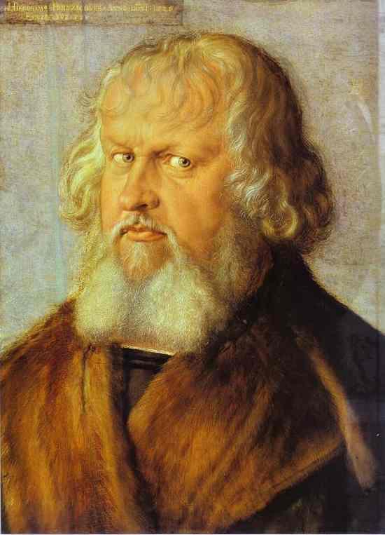 Albrecht Durer - Portrait of Hieronymus Holzschuher
