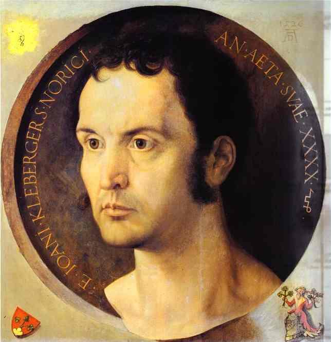 Albrecht Durer - Portrait of Johannes Kleberger