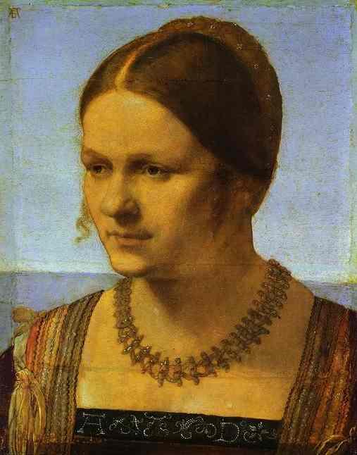 Albrecht Durer - Portrait of a Young Venetian Woman