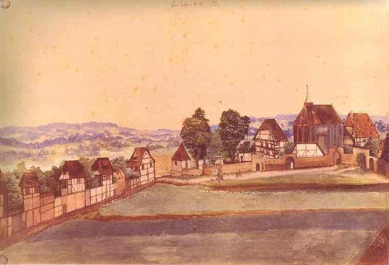 Albrecht Durer - Saint John's Church