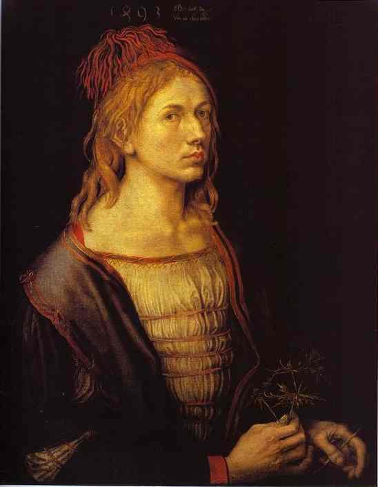 Albrecht Durer - Self-Portrait at 22