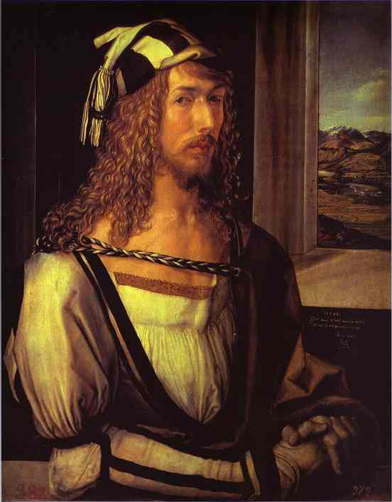 Albrecht Durer - Self-Portrait at 26