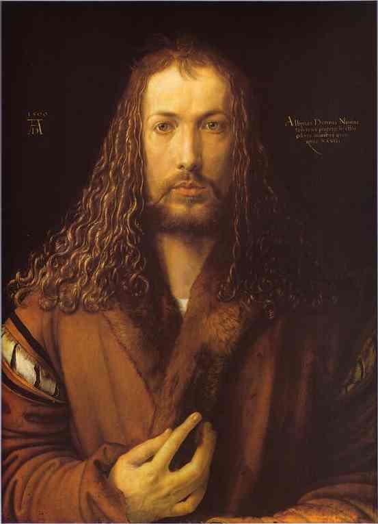 Albrecht Durer - Self-Portrait at 28