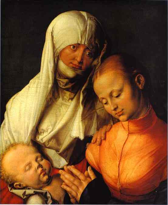 Albrecht Durer - St. Anne with the Virgin and Child