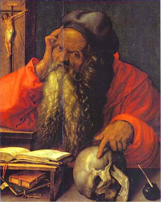 Albrecht Durer - St. Jerome