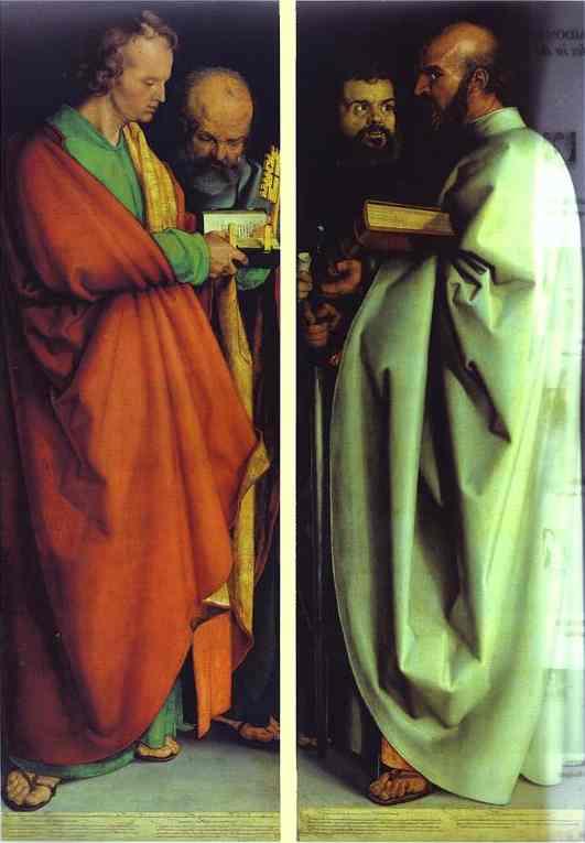 Albrecht Durer - The Four Holy Men