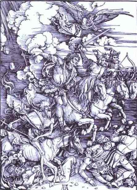 Albrecht Durer - The Four Horsemen of the Apocalypse