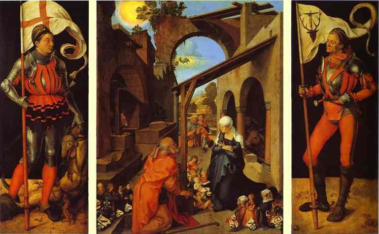 Albrecht Durer - The Paumgartner Altarpiece