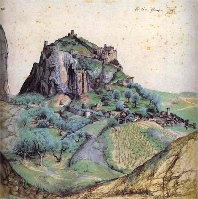 Albrecht Durer - View of Arco