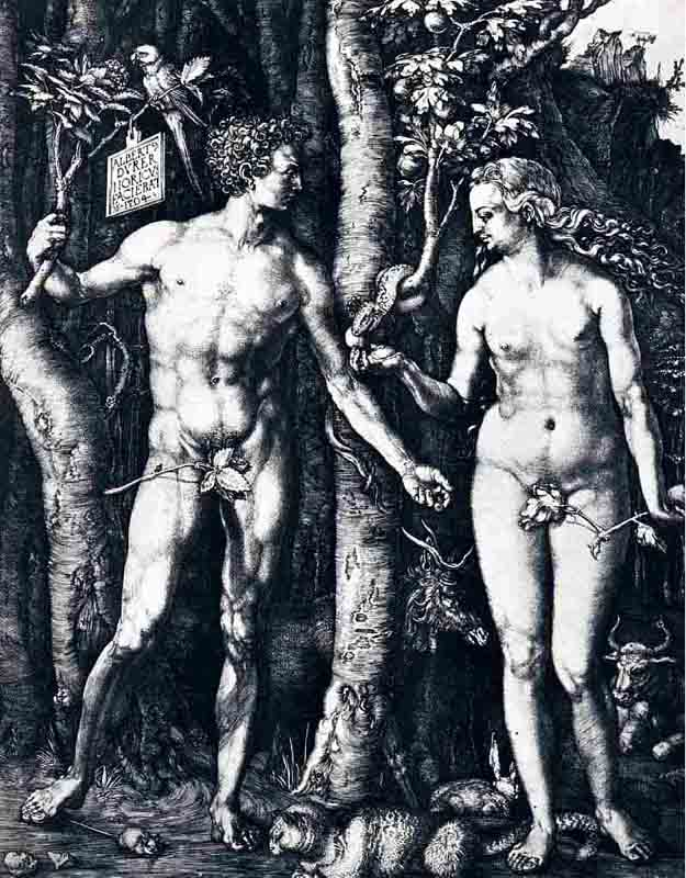 Durer,15,germany,adam Et Eve,berlin Smpk