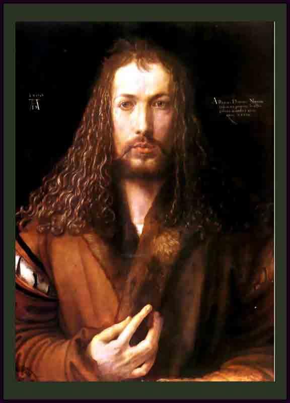 Durer,15,germany,autoportrait En 1500,munich B S