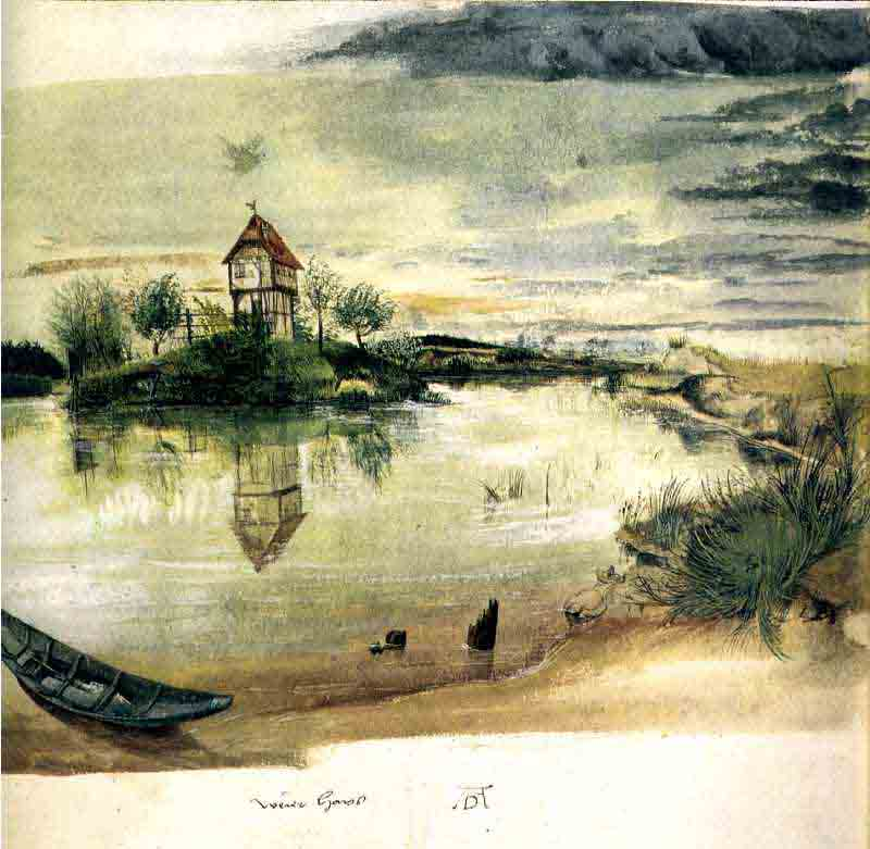 Durer,15,germany,maison Sur Un Etang,londres British M