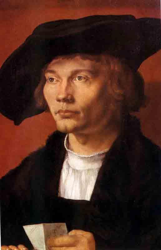 Durer,15,germany,portrait De Bernhard Von Reesen,dresde
