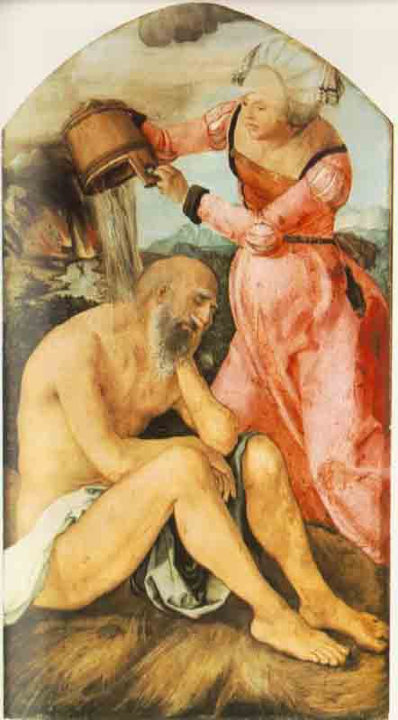 Durer,16,germany,job And His Wife