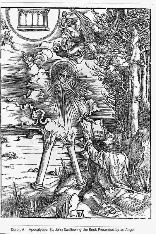 Durer,16,germany,st John Swallowing The Book