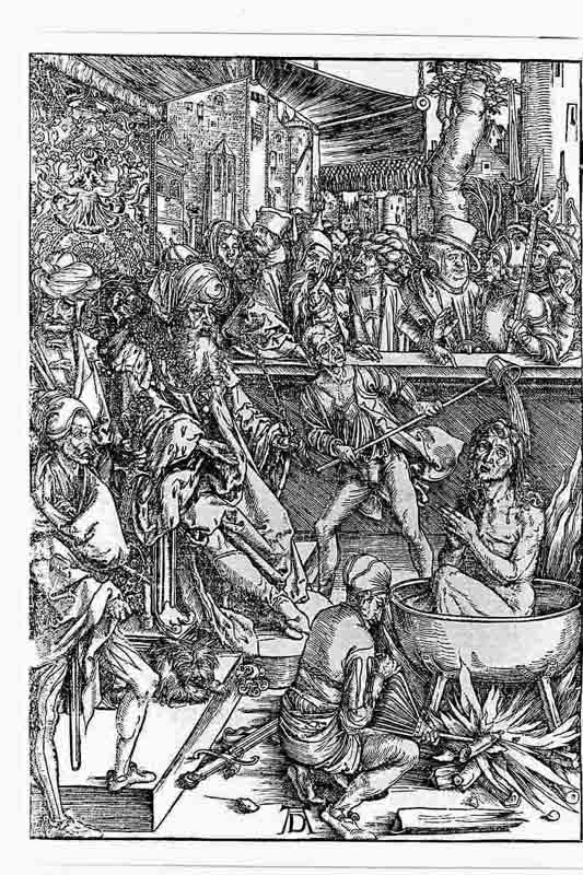 Durer,16,germany,the Martyrdom Of St John,
