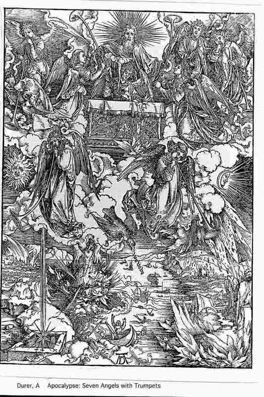 Durer,16,germany,the Seven Angels With A Trumpet
