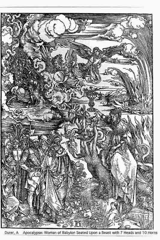 Durer,16,germany,the Woman Of Babylon Larg
