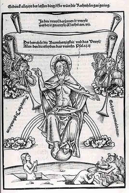 Durer,16,germany,trompettes Du Jugement Dernier, Print Bnf