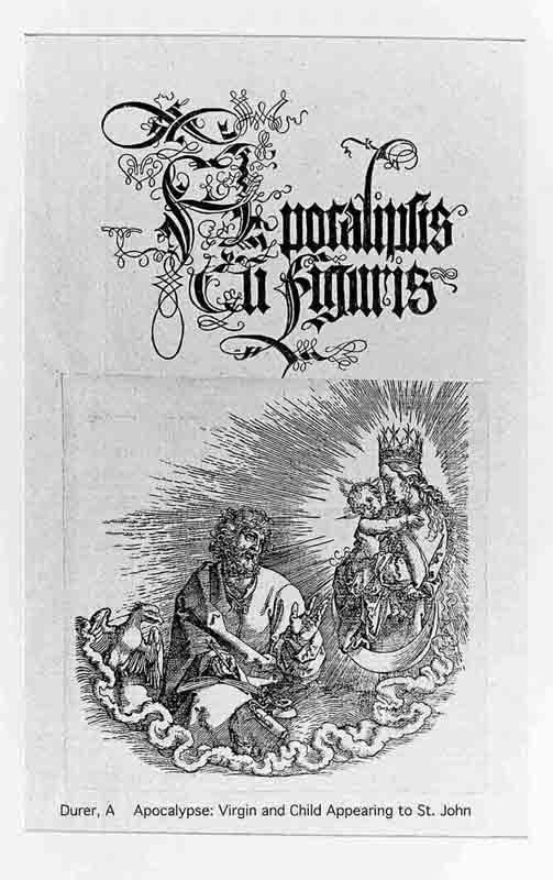 Durer,16,germany,virgin And Child Appearing To St John