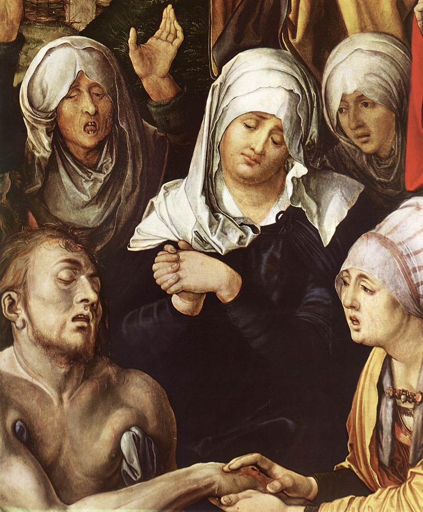 Lamentation for Christ (detail) 2