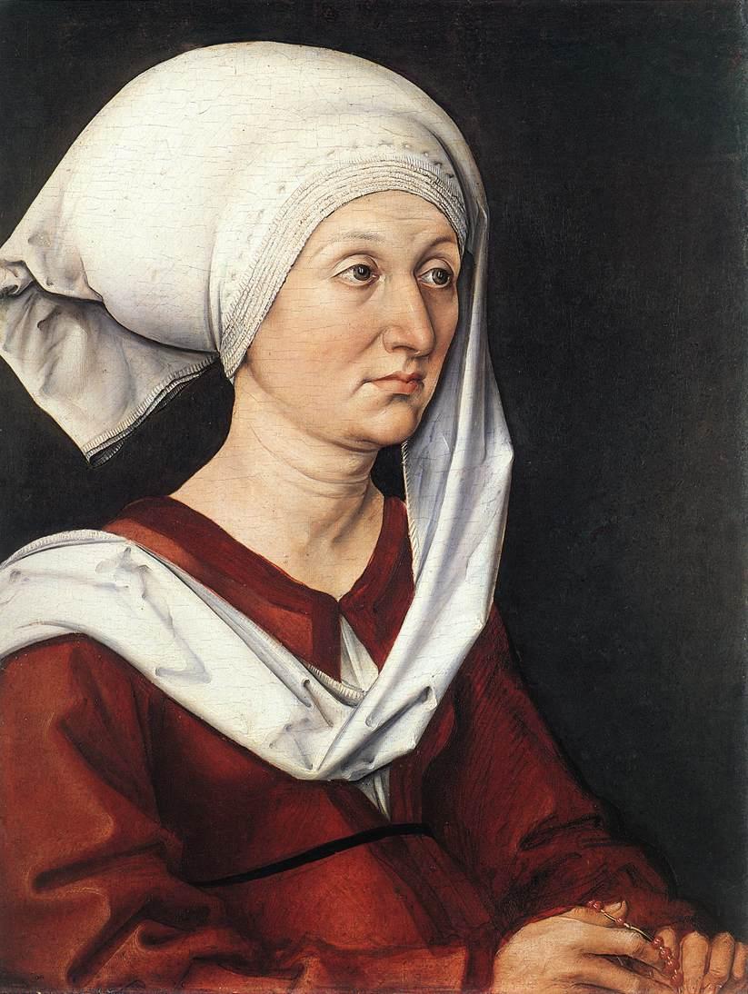 Portrait of Barbara Dürer