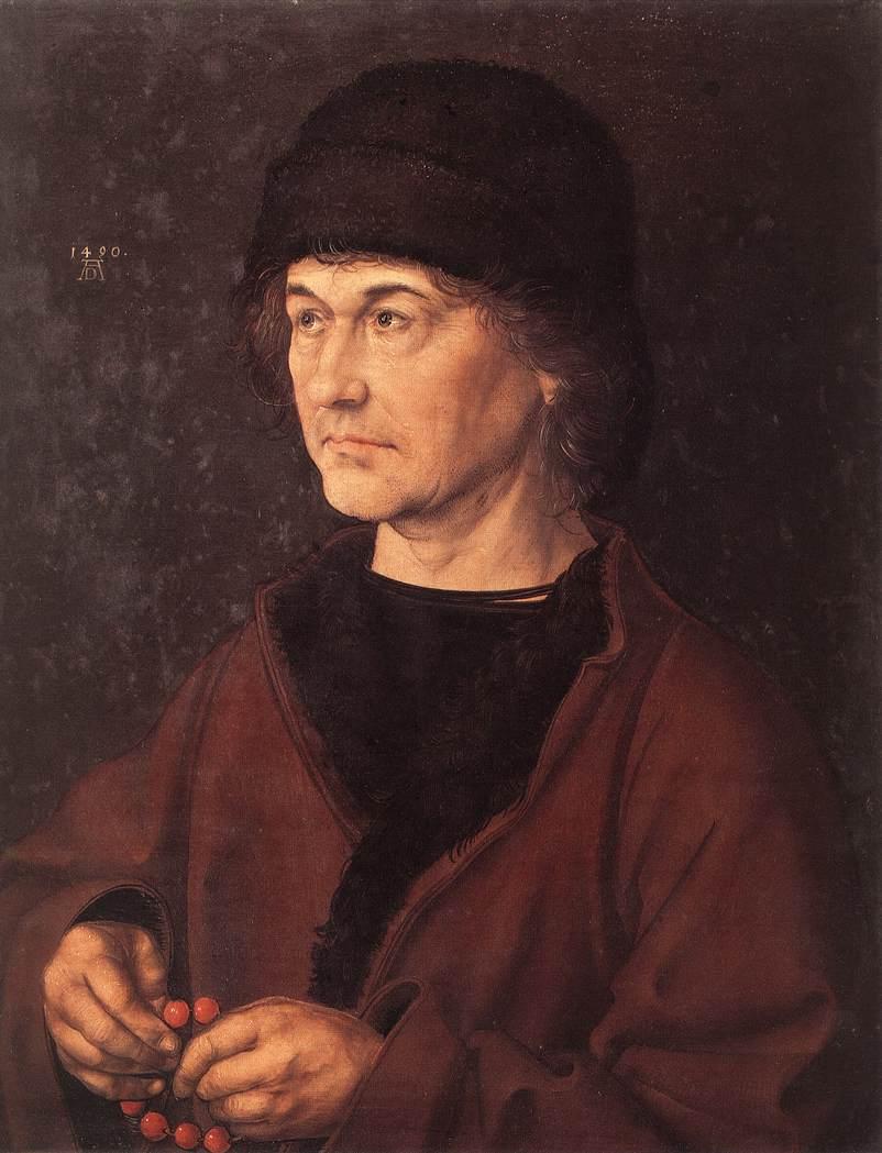 Portrait of Dürer's Father