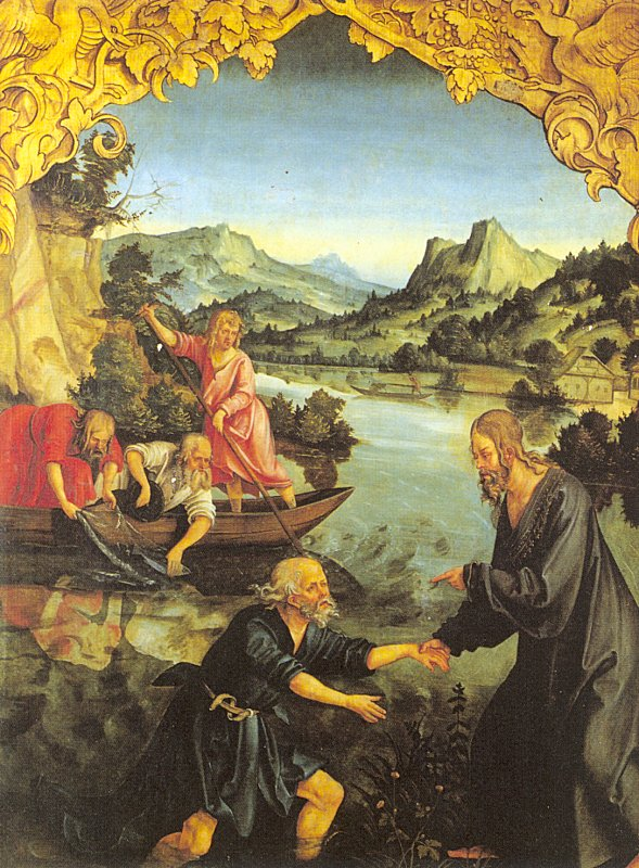 The calling of St Peter