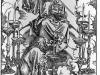 Durer,16,germany,st John Beholding The Seven Candelabre