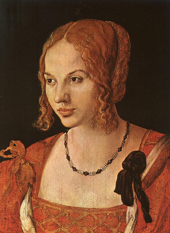 young Venetian lady