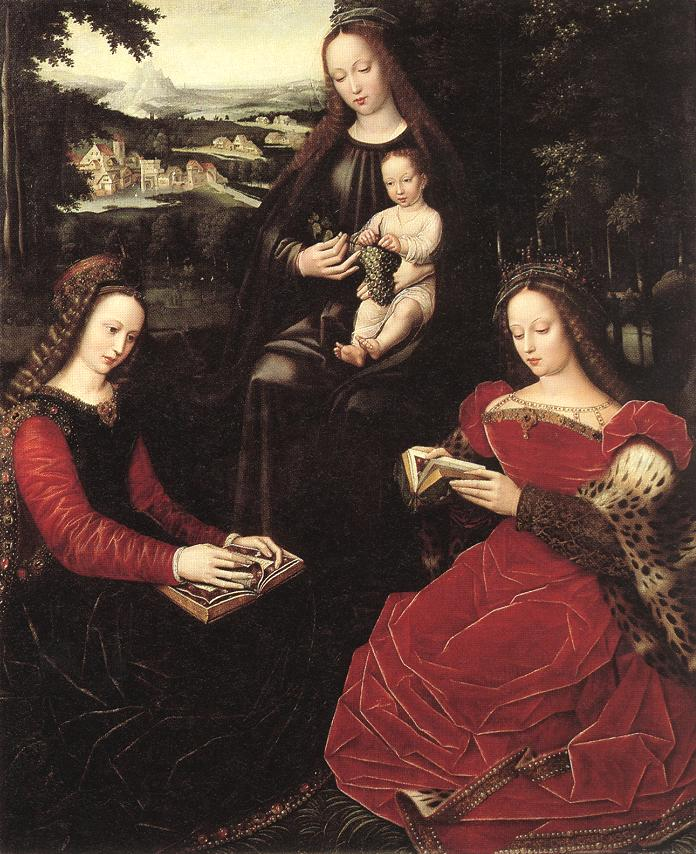 virgin-and-child-with-saints